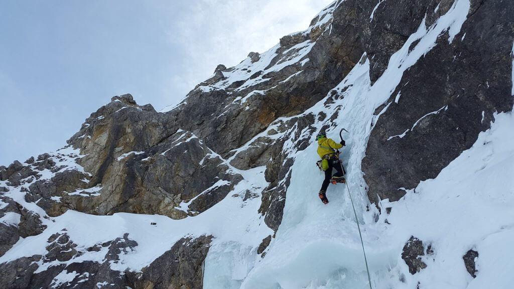 登山,アイスクライミング