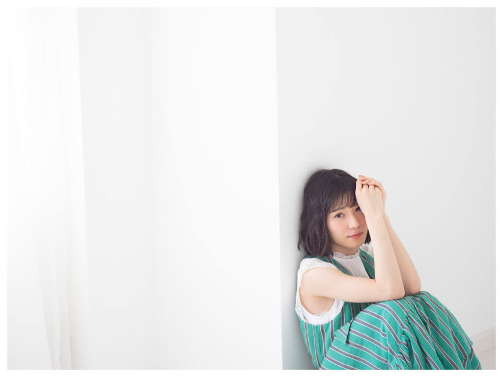 松岡茉優,グリーンのワンピース
