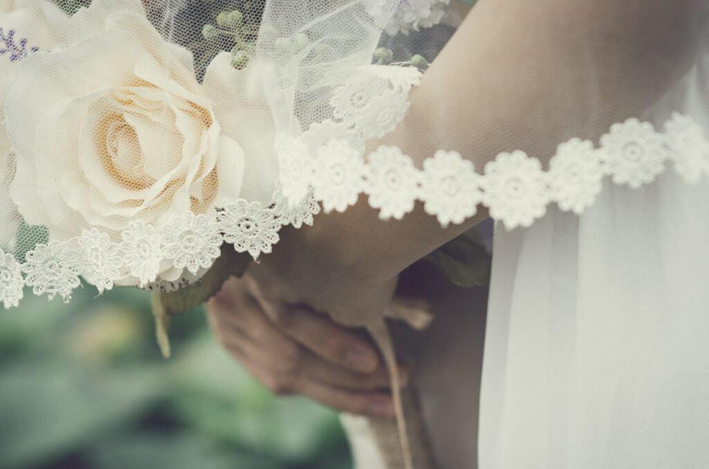 結婚式,花嫁,ブーケ