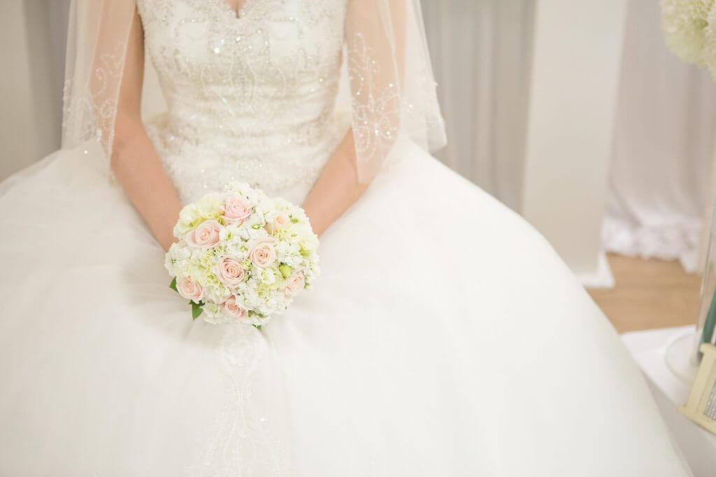 結婚,花嫁,ブーケ