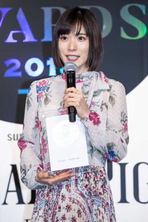 松岡茉優,Pen クリエイター・アワード 2018授賞式