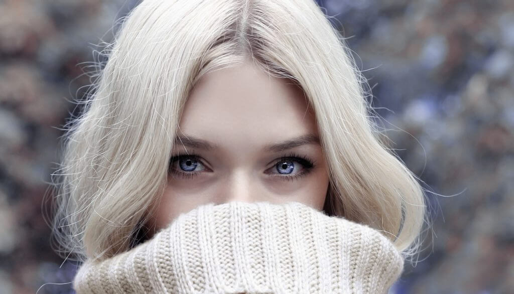 女性,セーター