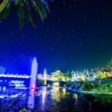 東南植物楽園,イルミネーション,ひかりの散歩道