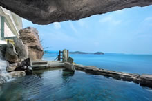 南三陸ホテル観洋の絶景露天風呂が最高!天然温泉の泉質や効能もまとめてみた!