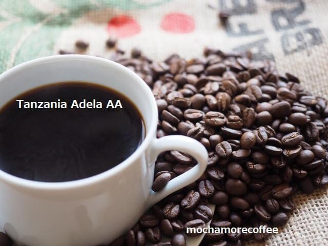 モカモアコーヒーのコーヒー