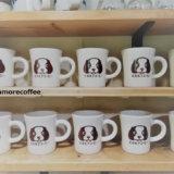 モカモアコーヒーのマグカップ