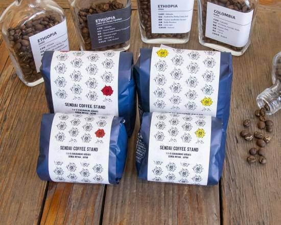 センダイコーヒースタンドのコーヒー豆