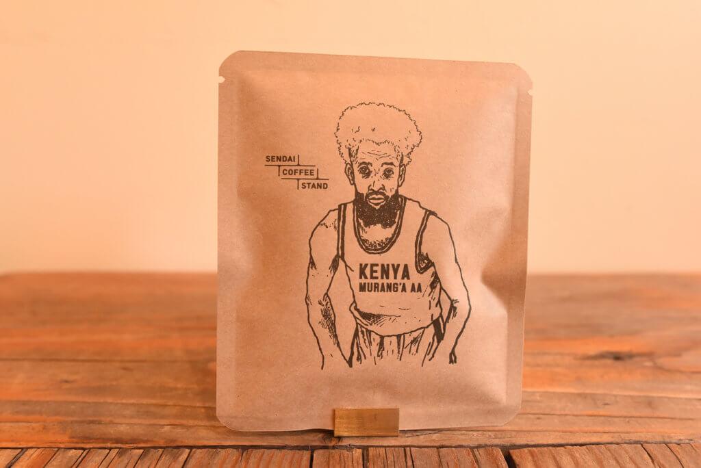 センダイコーヒースタンドのドリップバッグ