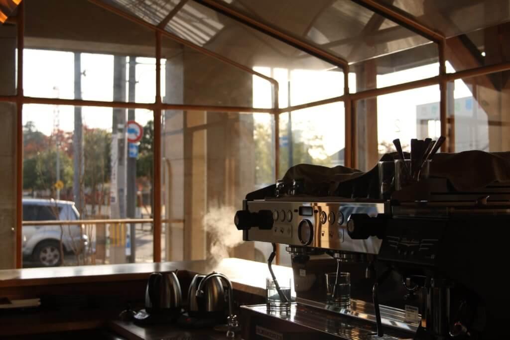 オブロスコーヒー店内