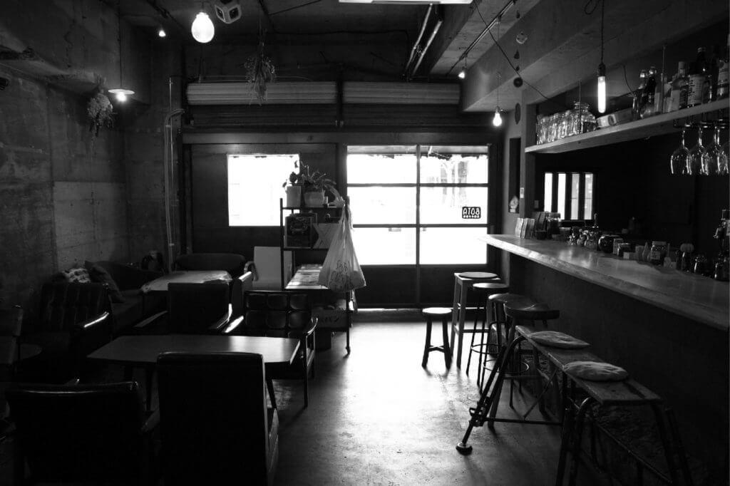 ボタコーヒー 店内
